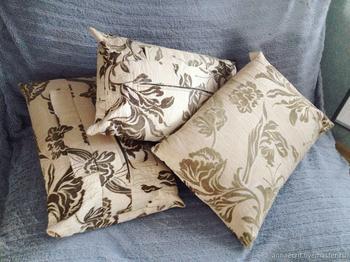 Легкий способ сшить чехлы для декоративных подушек