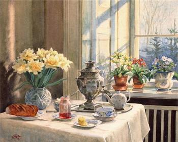 Картины Великой Княжны Ольги Александровны