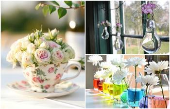 15 идей нежного цветочного декора, которые создадут в доме весеннее настроение