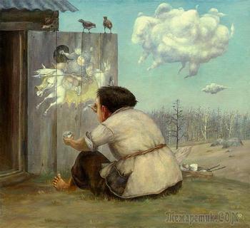 Бурятский художник Жамсо Раднаев. Мир детства