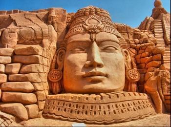 Великолепные скульптуры из песка