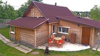 Превращение деревянного дома в фамильную резиденцию с собственным гербом