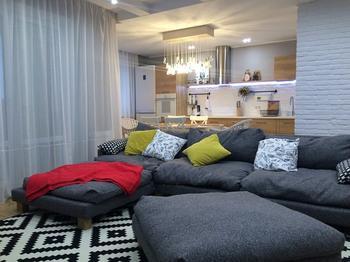 Эклектичный интерьер квартиры-студии