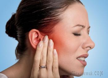 Воспаление ушной раковины: симптомы и лечение