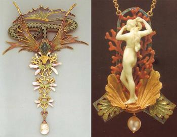 Штучные украшения по эскизам легендарного Альфонса Мухи: Змея для Сары Бернар и прочий эксклюзив