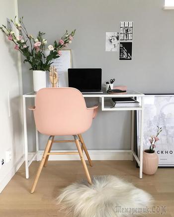 Рабочее место в маленькой квартире: 22 стильных варианта