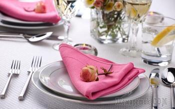 Как правильно сервировать стол для гостей — фото, инструкции