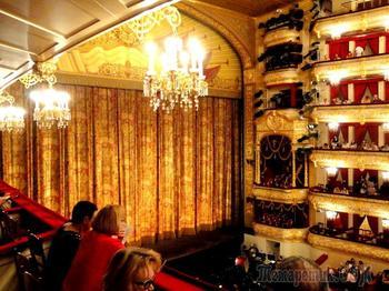 Большой театр в Москве - известнейший  театр оперы и балета в России
