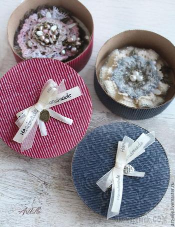 Делаем своими руками красивые подарочные коробочки из гофрированного картона