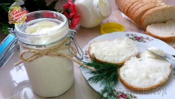 Домашний Плавленый сыр за 10 минут