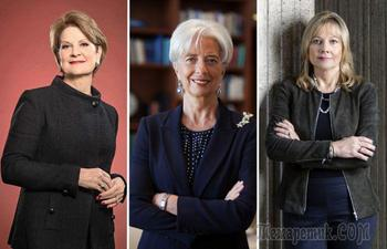 10 самых влиятельных женщин в мире по версии журнала Forbes