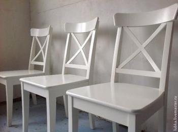 Состариваем стулья