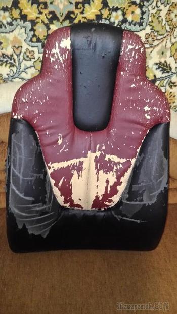 Бюджетный ремонт компьютерного кресла
