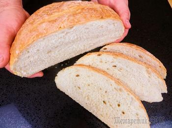 Хлеб без замеса за 5 минут