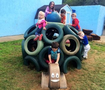 Детская площадка своими руками: как делается площадка для игр