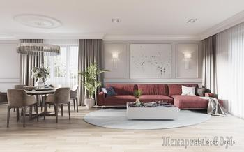 Элегантный интерьер дома — «CHERRY MOOD»