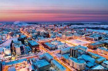 Один из самых холодных городов России
