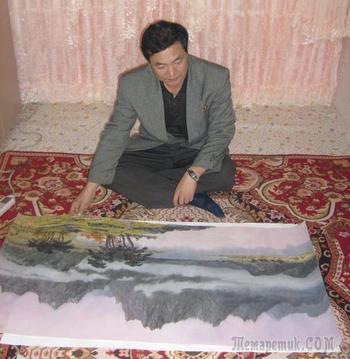 Корейская живопись.  Ли Мун Гиль - Lee Moon Gil (리문길). КНДР
