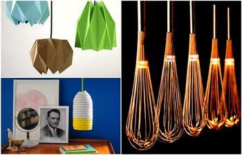 Оригинальные светильники ручной работы