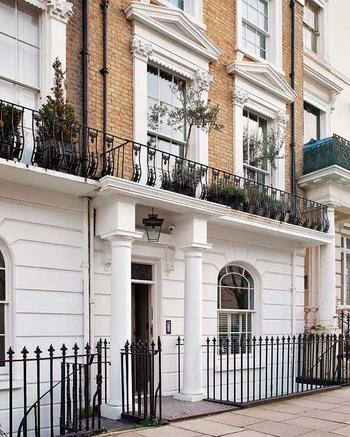 Викторианская квартира в Лондоне