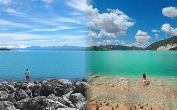 Похожие фотографии, сделанные в разных уголках планеты
