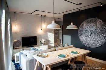 Стильный ремонт квартиры за небольшие деньги
