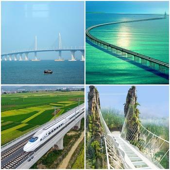 Китайцы снова бьют рекорды: в Поднебесной открыли самый длинный мост в мире