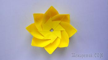 Красивый цветок для декорирования своими руками
