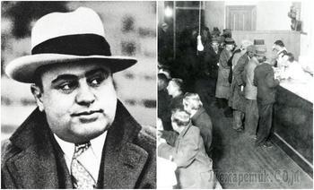 Как гангстер-бизнесмен Аль Капоне заработал на кризисе и чем отплатил обычным людям