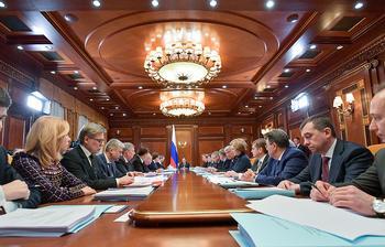 ВЦИОМ: свыше половины россиян одобряют работу кабмина