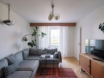 Квартира в стиле mid-century в кооперативном советском доме