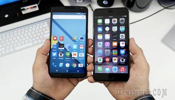 Cинхронизация контактов Google на iPhone и Android