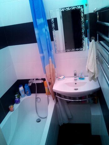 Ванная: зона релаксации на 2,25 квадратных метров