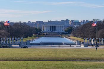 Прогулка по Вашингтону и инаугурация Байдена