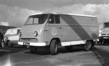 Рафик невиновен: история разработки фургона ЕрАЗ-762