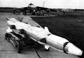 Аэробаллистическая противоспутниковая ракета Martin WS-199B Bold Orion (США)