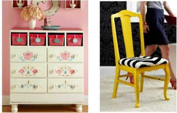 Идеи, как превратить старую мебель в дизайнерскую