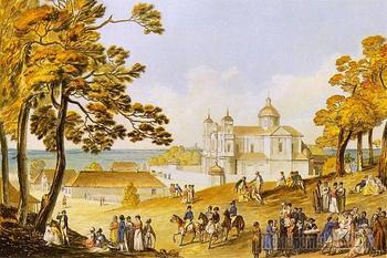 Монастыри и храмы... Костёл святых Петра и Павла. Вильнюс