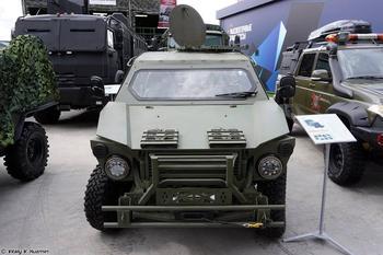 Лёгкие транспортные средства семейства «Сармат»