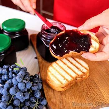 Ароматный джем из винограда Изабелла