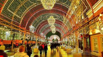 Москва новогодняя. Из ЦУМа через Лубянки до Китай город