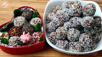 Очень вкусные конфеты из сухофруктов