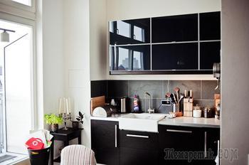 11 дизайн-подсказок по оформлению чёрно-белой кухни
