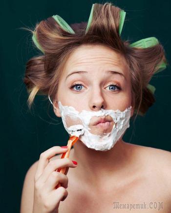 Фото девушки бреются 4383 фотография