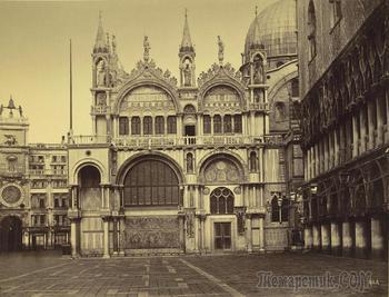 Венеция XIX века в фотографиях
