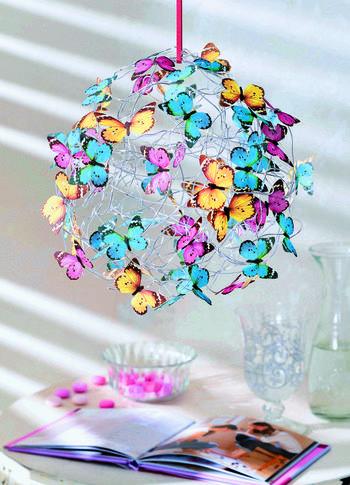 Бабочки из салфеток: оригинальный декор для дома своими руками