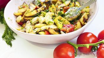 Овощное рагу - постное блюдо   Хоть к обеду, хоть на праздничный стол!