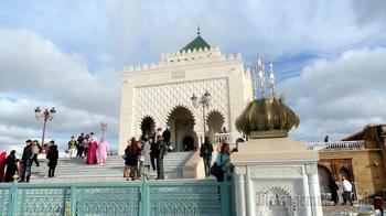 Марокко. Рабат. Мавзолей Мухаммеда V