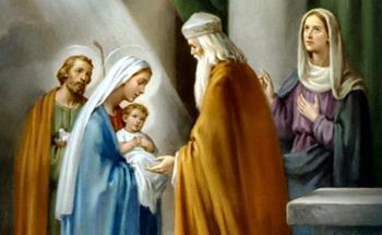 Праведный Симеон Богоприимец и пророчица Анна