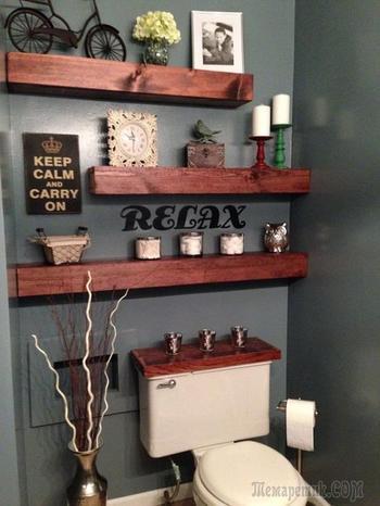 Крутые идеи для декорирования ванной комнаты своими руками